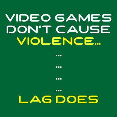 video game violence bottle green