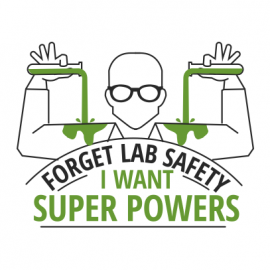 forget lab safety white