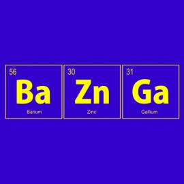 BaZnGa royal blue