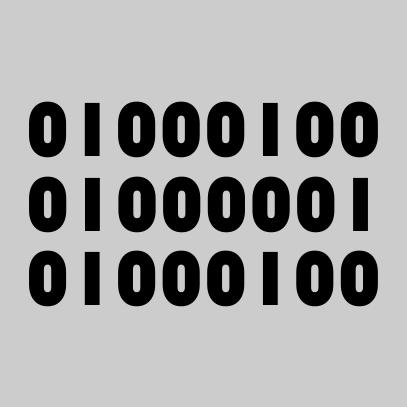 binary dad grey