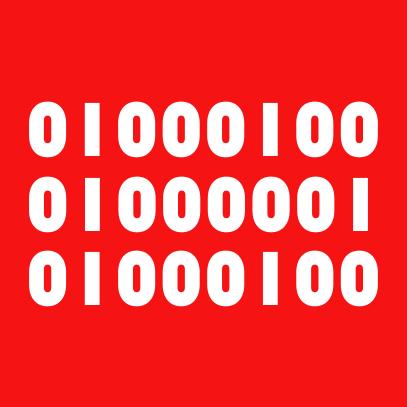 binary dad red