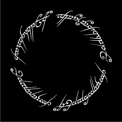 Lord Of The Rings Inspired Logo