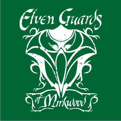 lotr elven guards of mirkwood bottle green