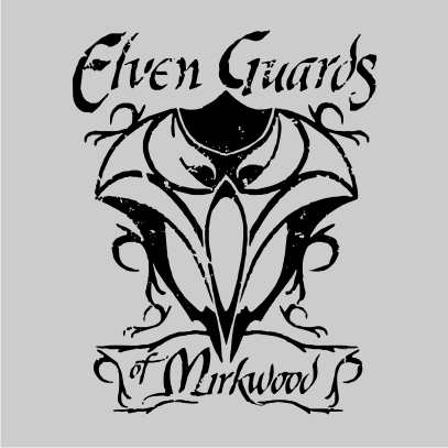 lotr elven guards of mirkwood grey