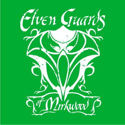 lotr elven guards of mirkwood kelly green