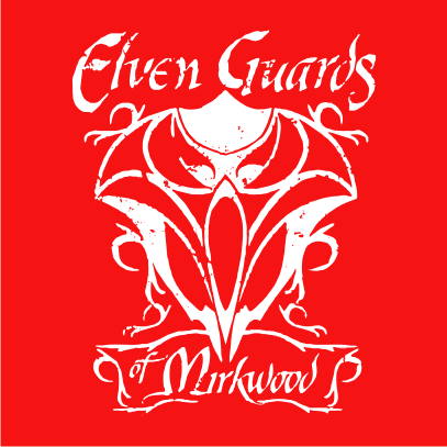 lotr elven guards of mirkwood red