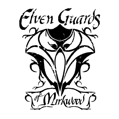 lotr elven guards of mirkwood white