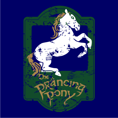 lotr the prancing pony navy