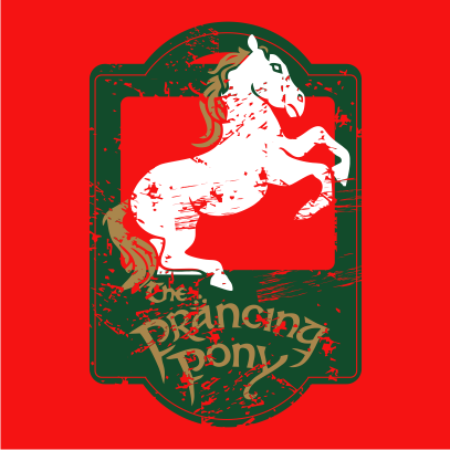 lotr the prancing pony red