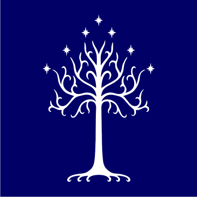 lotr tree of gondor navy