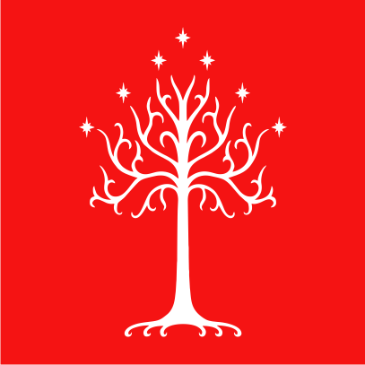 lotr tree of gondor red