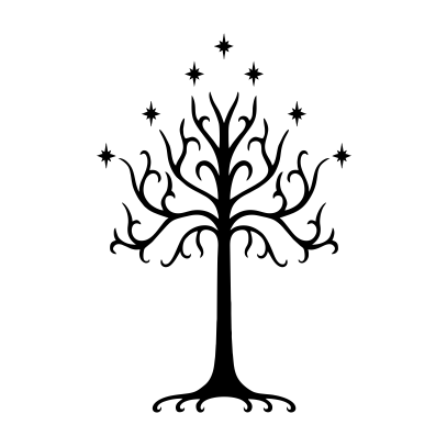 lotr tree of gondor white