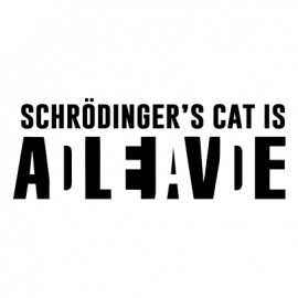 schrodingers cat white