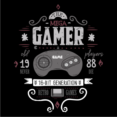 the mega gamer black
