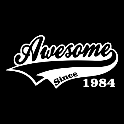 awesome since black