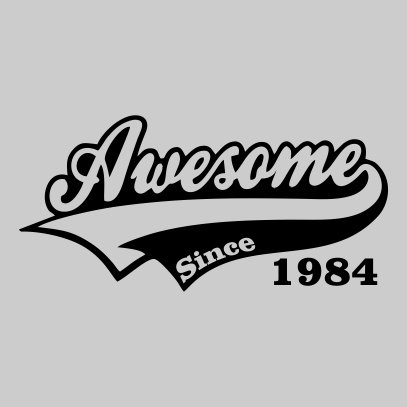 awesome since grey