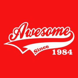 awesome since red