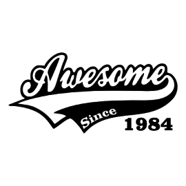 awesome since white