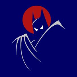batman moonlight navy