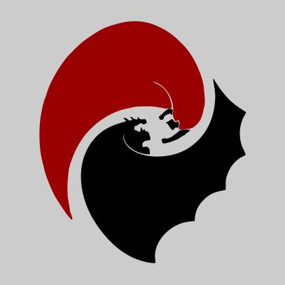 batman vs superman circle grey