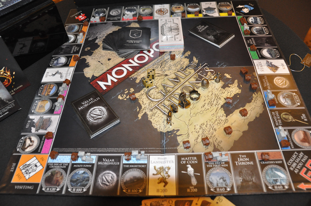 game of thrones monopoly board game collector s edition. Black Bedroom Furniture Sets. Home Design Ideas