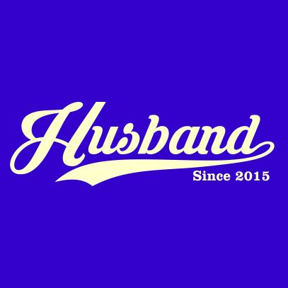 husband since royal blue
