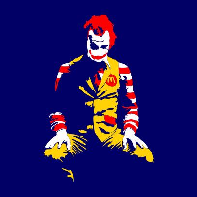 ronald mcdonald joker navy