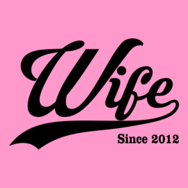 wife since light pink