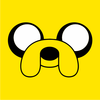 Adventure Time Jake sunflower