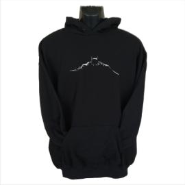 Batman silhouette hoodie