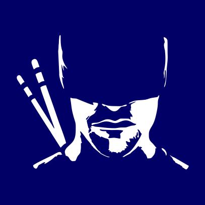 daredevil silhouette navy