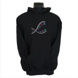ps4 dna hoodie black