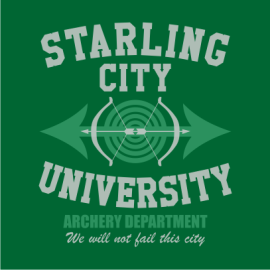 starling city bottle green