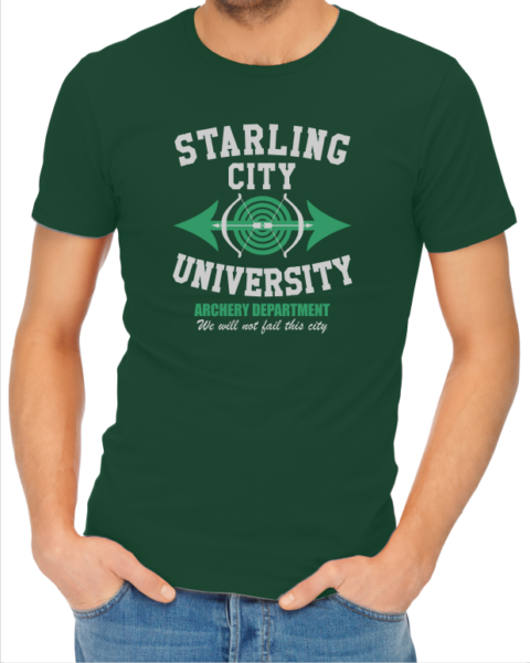 starling-city-bottle-green-tshirt