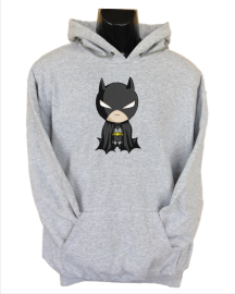 baby batman grey
