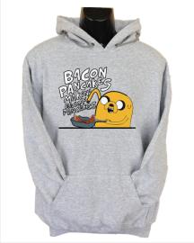 bacon pancakes grey