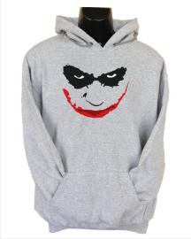 joker smile grey