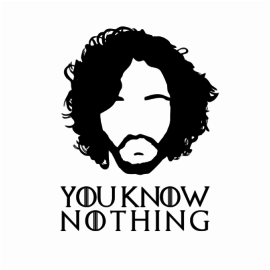 you know nothing white