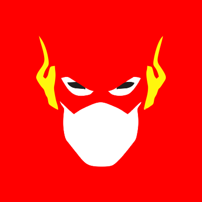 the flash red