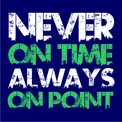 never on time navy