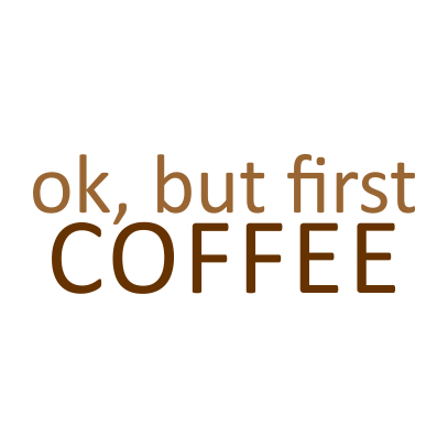 first coffee white