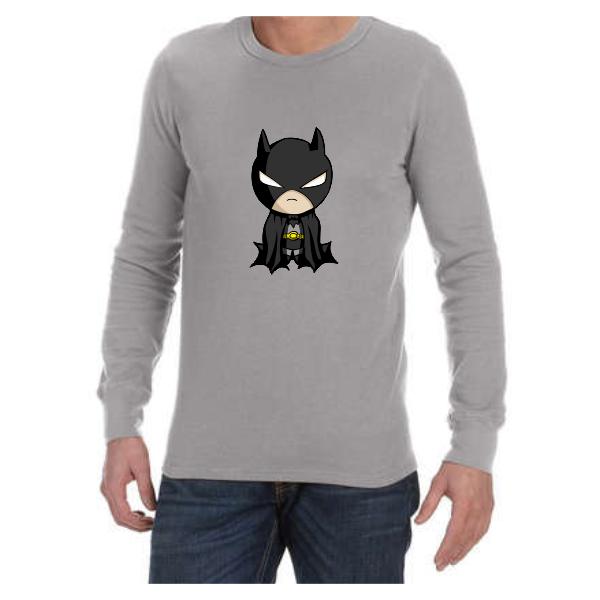Baby Batman (Grey) long sleeve shirt