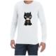 Baby Batman (White) long sleeve shirt