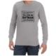 Batman (Grey)  long sleeve shirt
