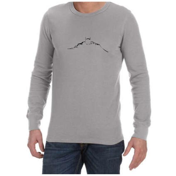 Batman Silhouette (Grey) long sleeve shirt