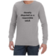Cleverly Disguised (Grey) long sleeve shirt