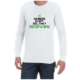 Gamers Dont Die (White) long sleeve shirt