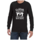 I Am A Gamer (Black) long sleeve shirt