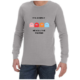Its Simple (Grey) long sleeve shirt