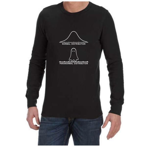 Normal Paranormal (Black) long sleeve shirt
